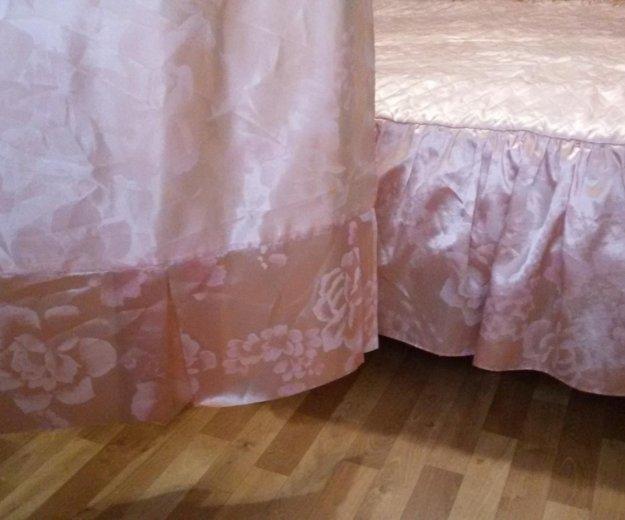 Покрывало и шторы. Фото 2. Пермь.