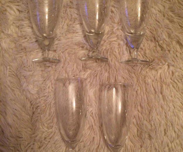 Бокалы для шампанского. Фото 1. Москва.
