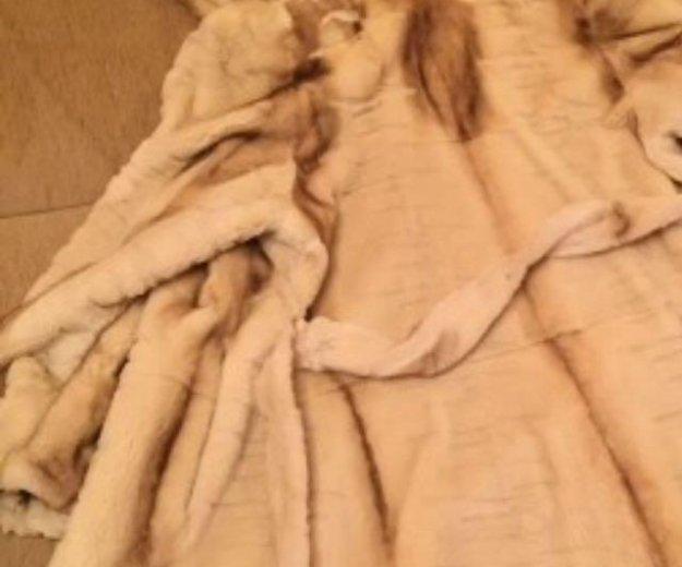 Шуба норковая коллекционная sagamink. Фото 4. Тюмень.