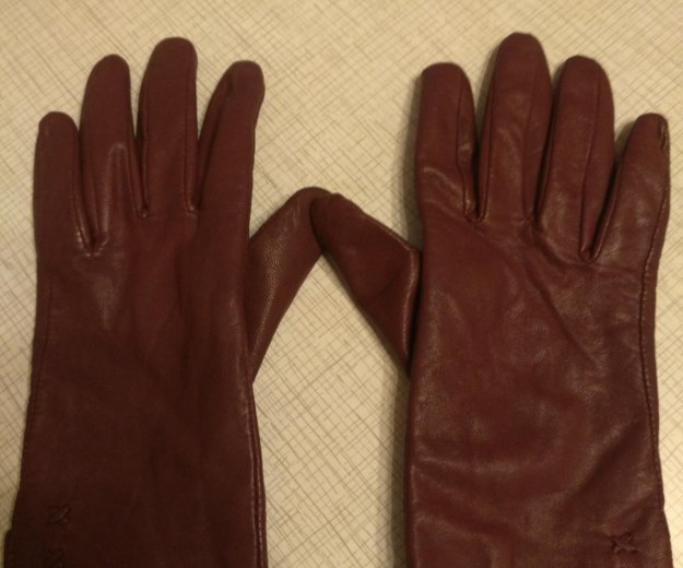 Кожаные перчатки. Фото 1. Краснодар.