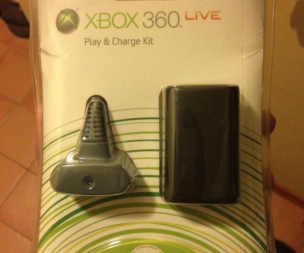 Зарядный комплект для xbox 360. Фото 1. Москва.