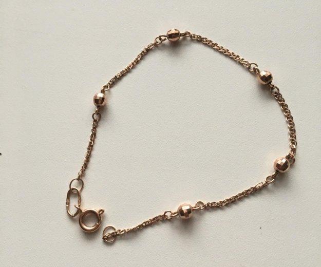Золотой браслет. Фото 1. Самара.