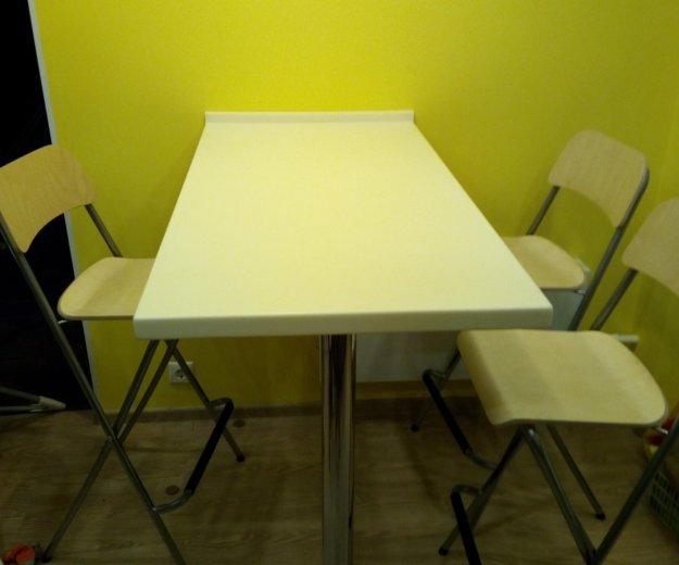 Барная стойка со стульями. Фото 1. Долгопрудный.