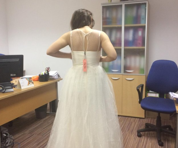 Свадебное платье новое. Фото 3. Юбилейный.