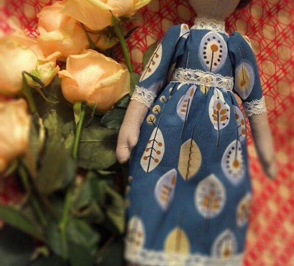 Текстильная кукла варвара. Фото 3. Ижевск.