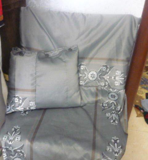Чехлы для стульев бу ручная работа.. Фото 4. Знамя Октября.