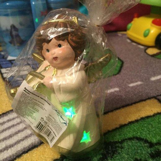 Ангелок с подсветкой. Фото 1. Санкт-Петербург.