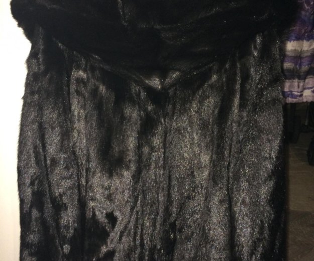 Норковая шуба. Фото 2. Клин.