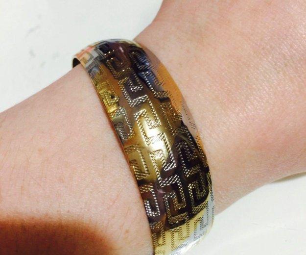 Новый этнический позолоченный браслет. Фото 4. Москва.