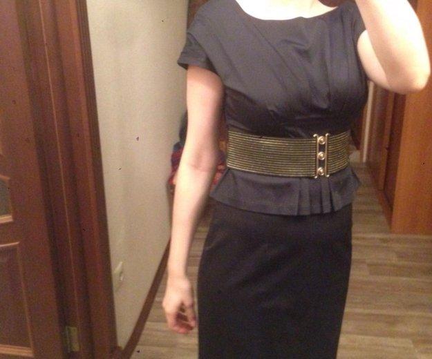 Платье с баской. Фото 1. Тюмень.
