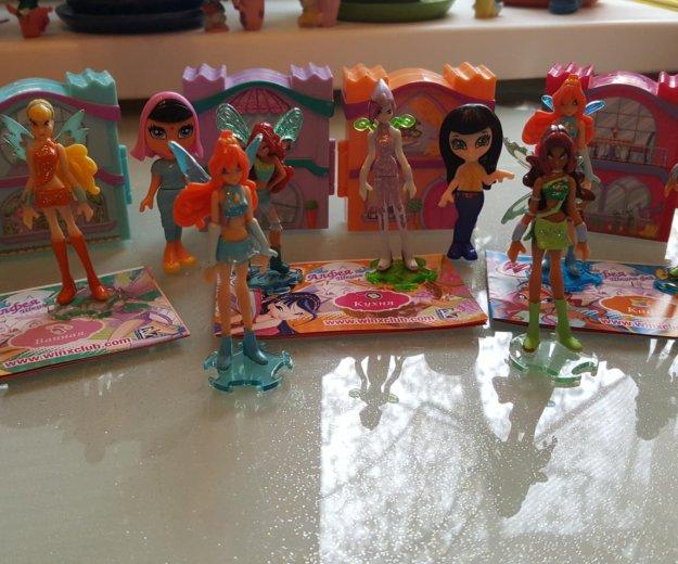 Набор кукол winx и их домики. Фото 3. Москва.