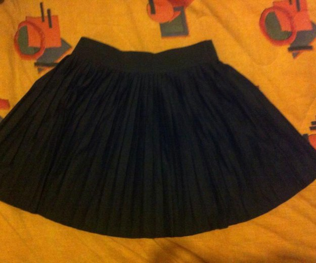 Плессированная юбка. Фото 1. Москва.