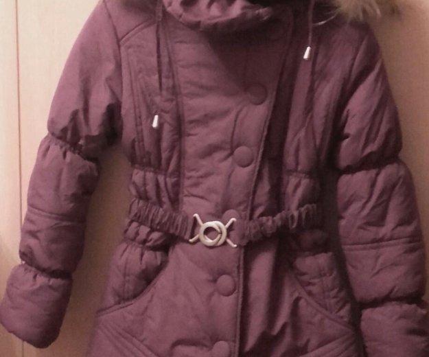 Зимнее пальто для девочки. Фото 2. Щёлково.