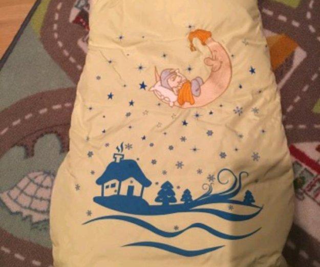 Зимний пуховой конверт-одеяло. Фото 2. Новочеркасск.