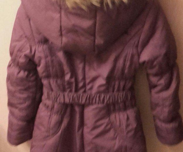 Зимнее пальто для девочки. Фото 3. Щёлково.