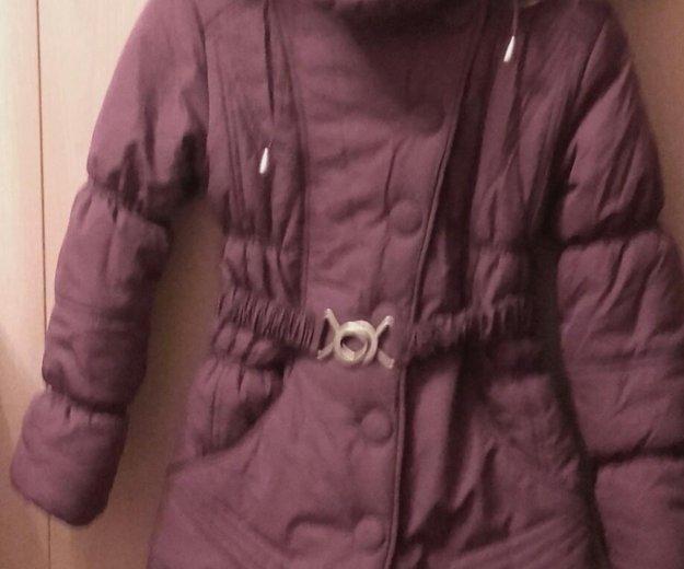 Зимнее пальто для девочки. Фото 1. Щёлково.
