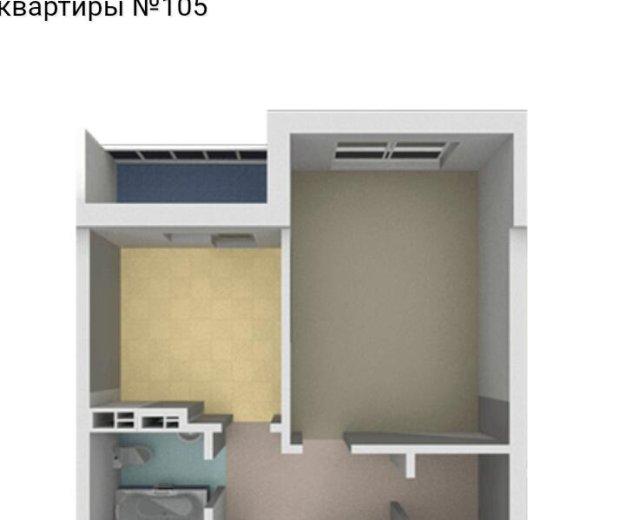 1 комнатная каартира. Фото 1. Калининград.