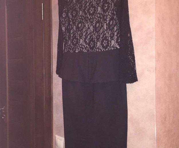 Турецкое платье с баской  (42-44) размер. Фото 4. Москва.