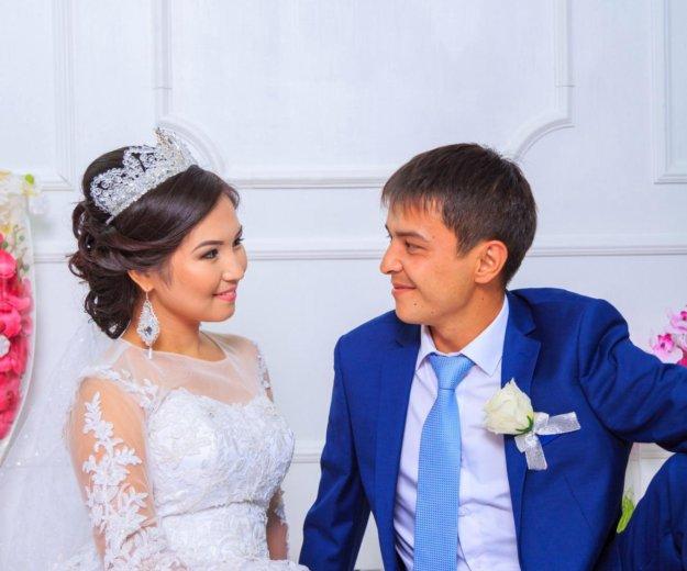 Свадебное платье + все аксесуары (ручная работа). Фото 3. Казань.
