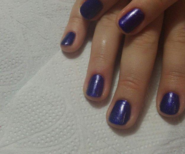 Покрытие ногтей гель лаком. Фото 4. Рязань.
