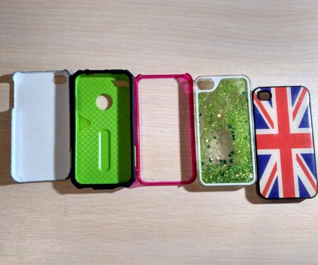 Чехлы для айфона 4 или 4s. Фото 1. Калининград.