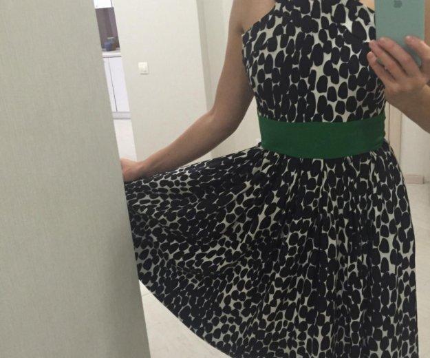 Платье р 40 италия шёлк. Фото 2. Бор.
