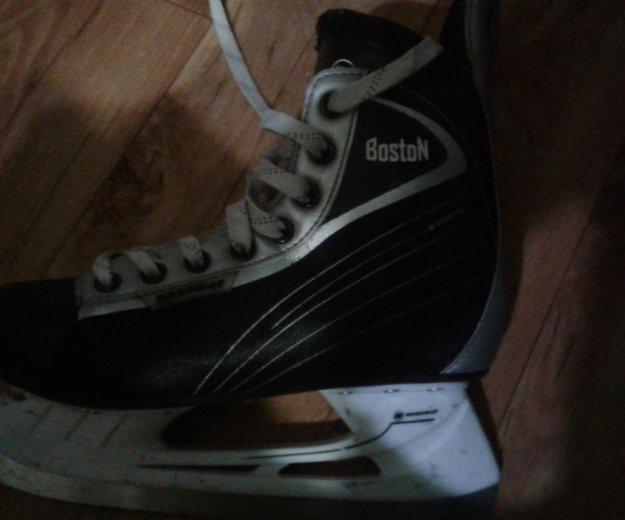 Хоккейные коньки. Фото 2. Волжск.