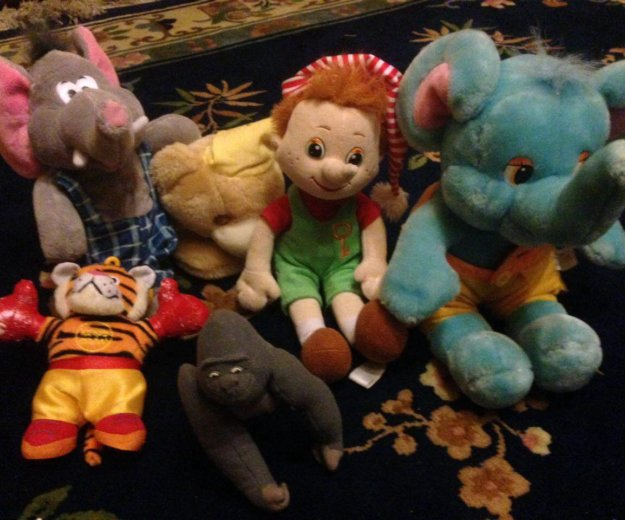 Детские мягкие игрушки. Фото 2. Долгопрудный.