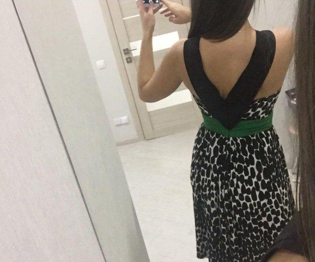 Платье р 40 италия шёлк. Фото 4. Бор.