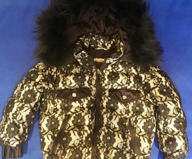 Куртка для девочки б/у. Фото 3.