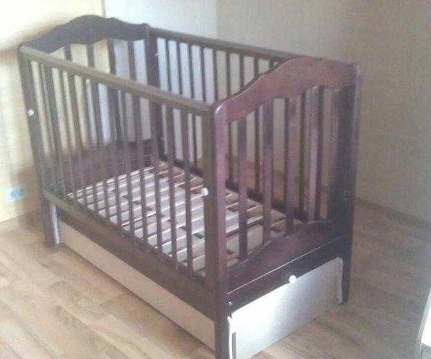 Кроватка детская.матрац бесплатно ортопедический. Фото 1. Москва.