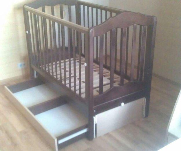 Кроватка детская.матрац бесплатно ортопедический. Фото 2. Москва.