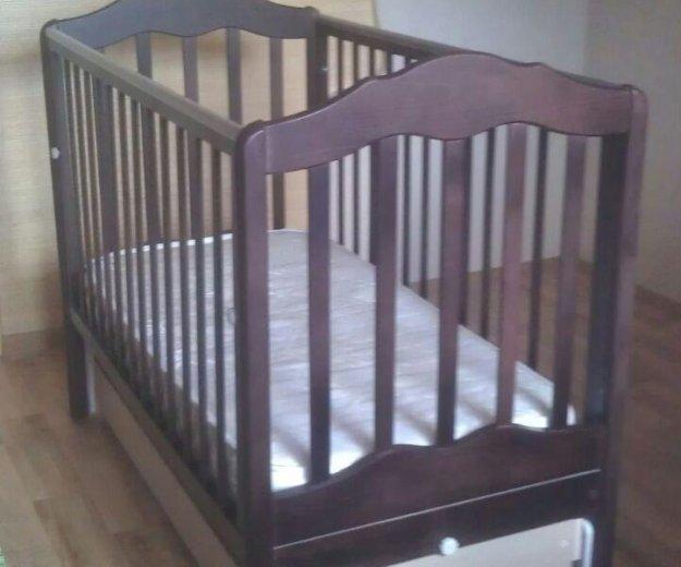 Кроватка детская.матрац бесплатно ортопедический. Фото 4. Москва.