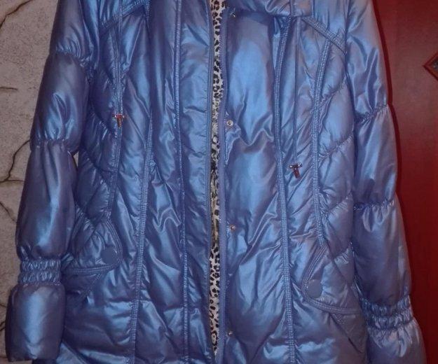Полу-пальто  с капюшоном. Фото 1. Серпухов.