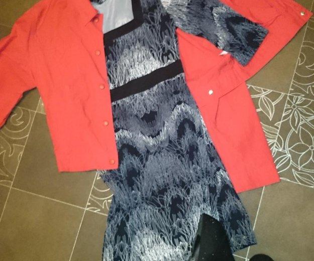 Платье, пиджак, туфли. Фото 1. Дзержинск.