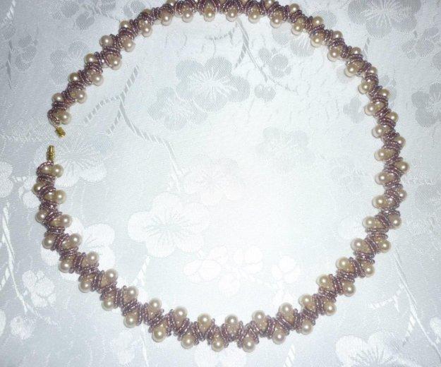 Ожерелье из бисера. Фото 1. Уфа.