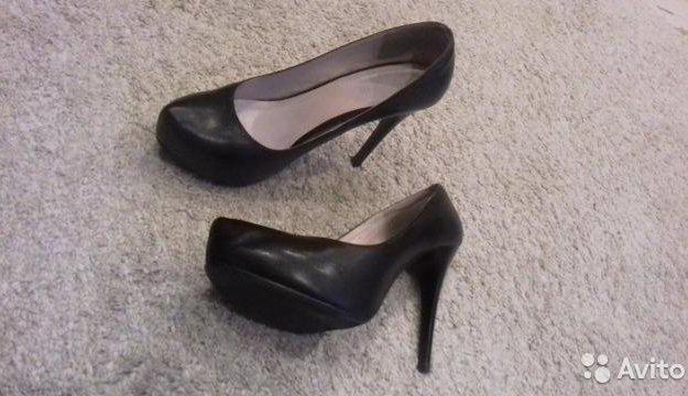 Кожаные туфли 37 размера. Фото 2. Подольск.