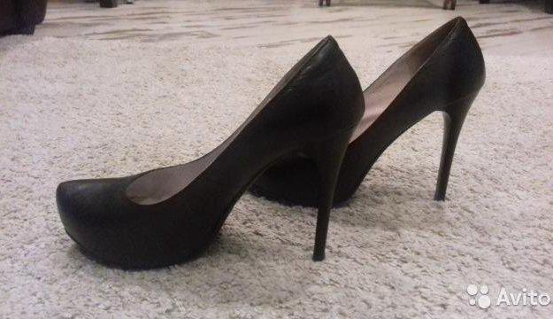 Кожаные туфли 37 размера. Фото 4. Подольск.
