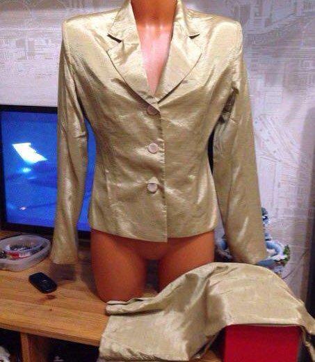 Костюм пиджак + юбка. Фото 1. Санкт-Петербург.