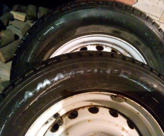 Зимка колёса. Фото 1. Динская.