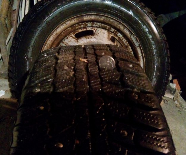 Зимка колёса. Фото 2. Динская.