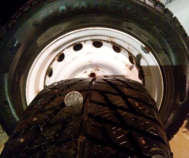 Зимка колёса. Фото 3. Динская.