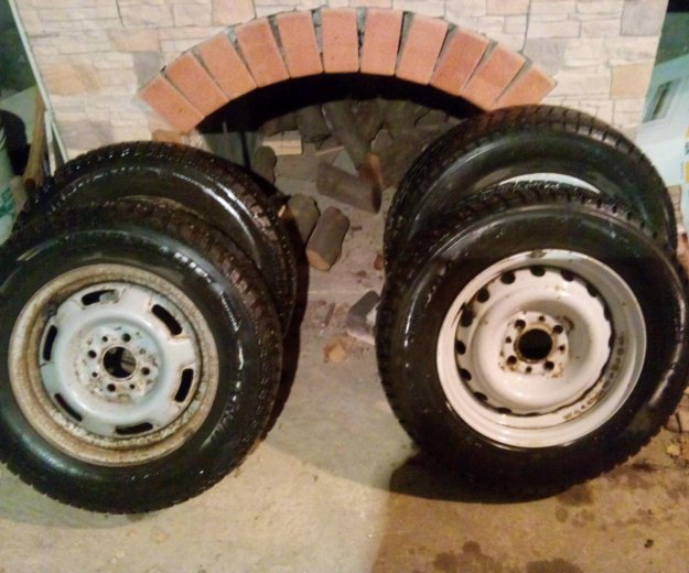 Зимка колёса. Фото 4. Динская.