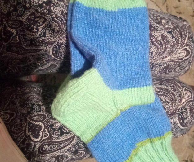 Носки вязаные, шерсть. Фото 1. Москва.