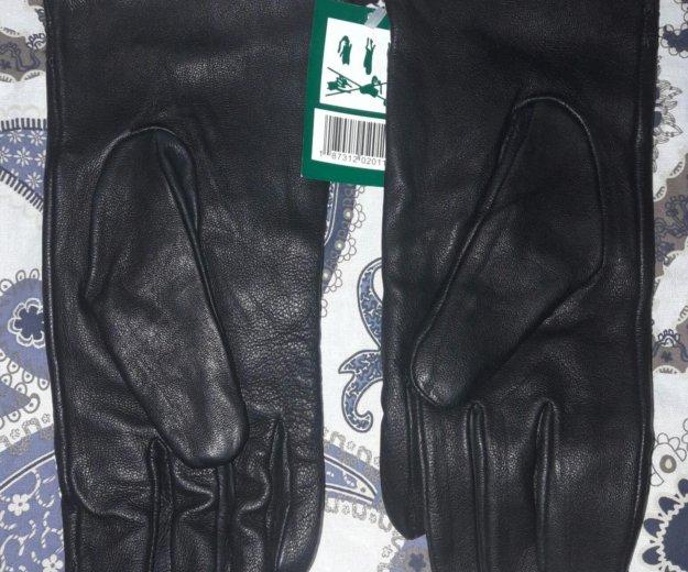 Кожанные черные перчатки. Фото 2. Москва.
