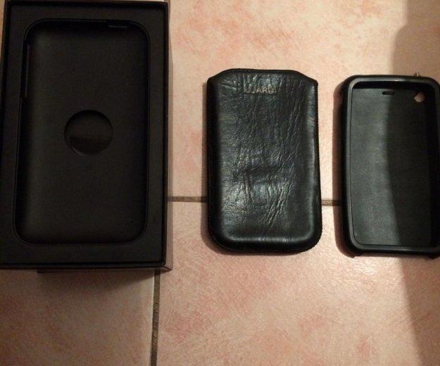 Оригинальные документы на iphone 3 + два чехла. Фото 2. Новороссийск.