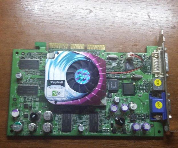 Видеокарта geforce 4/ ti 4200/agp8x. Фото 1. Мытищи.