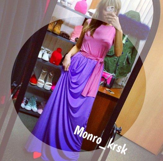 Платье в пол. Фото 1. Красноярск.