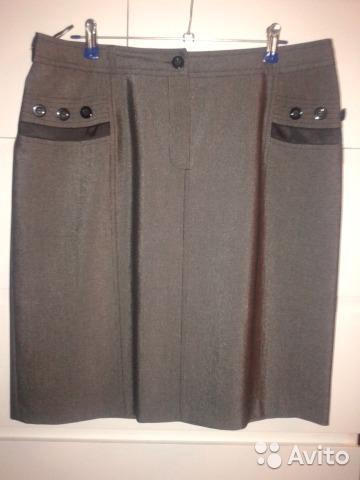 Модная юбка р-р 50. Фото 1. Подольск.