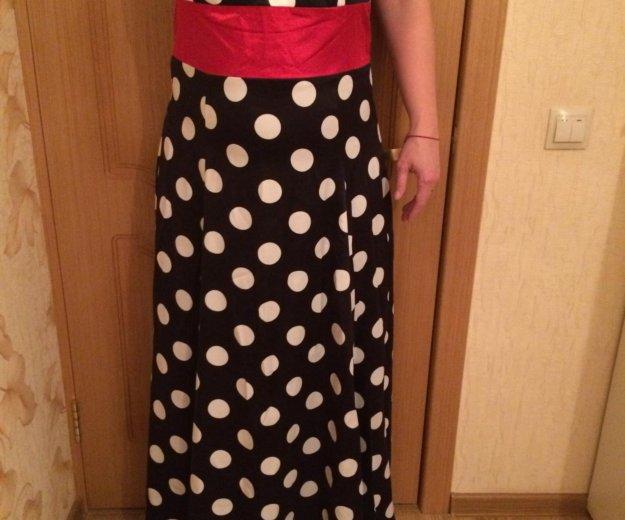 Платье в пол новое!. Фото 1. Щёлково.